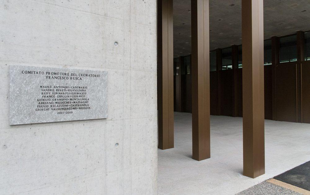 Chiasso: il nuovo crematorio
